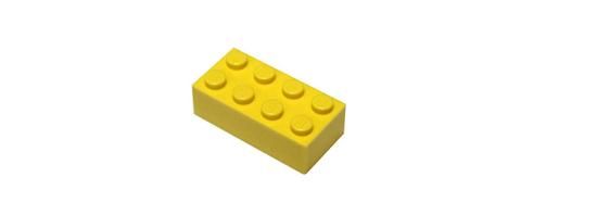 Legostück zur Veranschaulichung der Buchhaltungssoftware