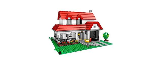 Lego House zur Veranschaulichung der ERP-Software