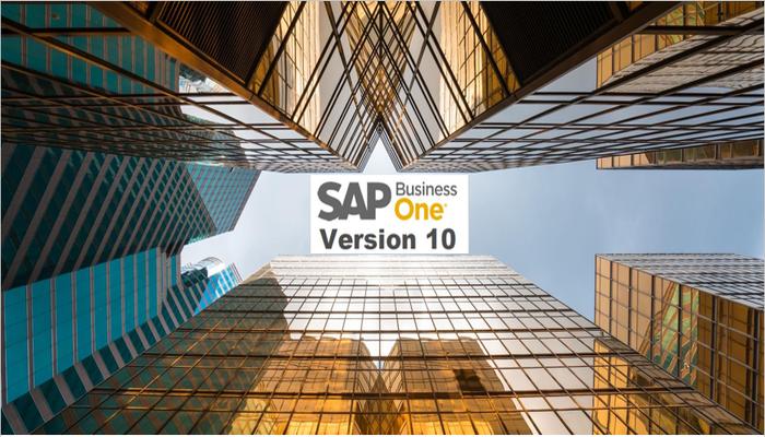 SAP Business One バージョン10: リリースハイライト
