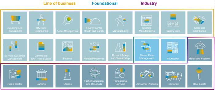 LOB foundation Industry SAP S4HANA