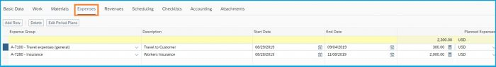 SAP-ByDesign-Project-Management-expenses