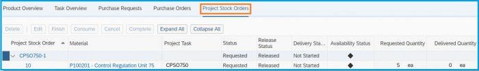 SAP-Bydesign-Project-Management-stock-order